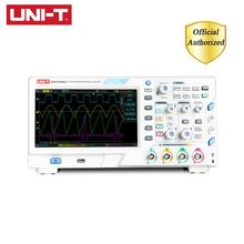 лучшая цена UNI-T UPO2104CS Ultra Phosphor Oscilloscopes 4CH 100MHZ Scopemeter Scope Meter 7 Inches Widescreen USB Interface LCD Displays