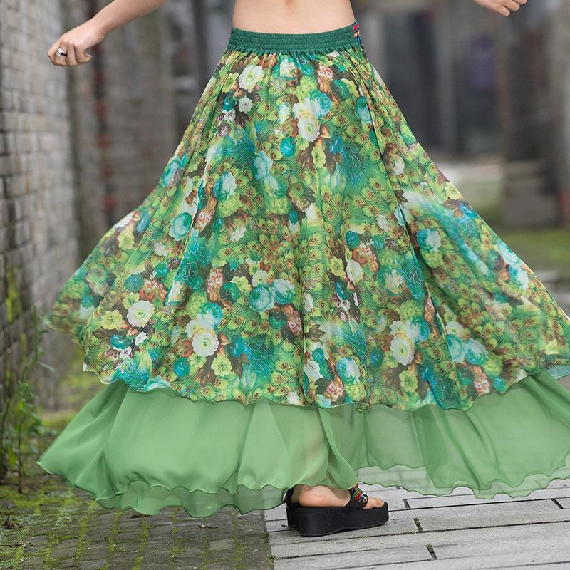 Compare Prices on Green Floral Skirt- Online Shopping/Buy Low ...