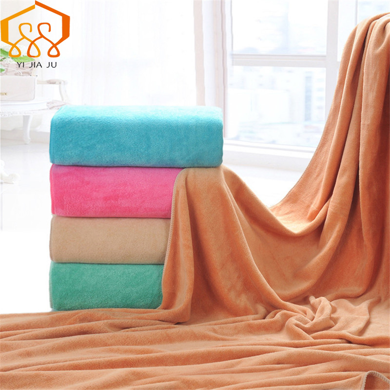 19 Colors 180x80cm Microfiber Beach Towel Super Absorbent Bath Towel Sport Towels Gym Fast Drying Cloth Beauty Salon Bed Large