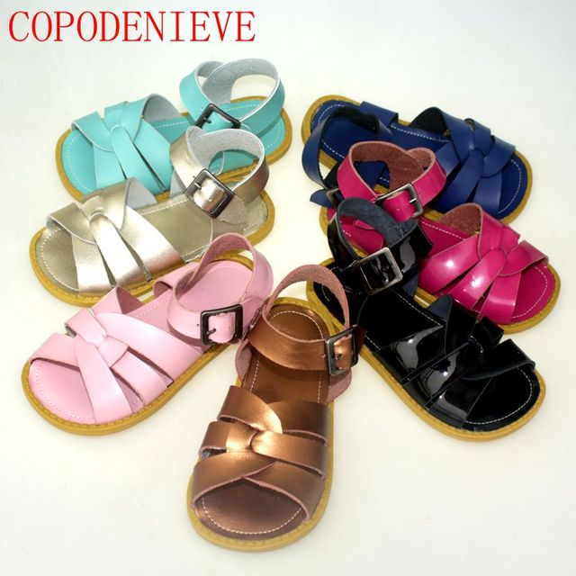 35cccad78 COPODENIEVE Kids shoes boys style sandals baby shoes casual sandals  anti-slip hollow air sport