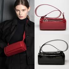 BRIGGS Wide Strap Women Shoulder Bag Fashion High Quality Crossbody Messenger Bags Designer PU Leather Handbag Female Bag Bolsa недорого