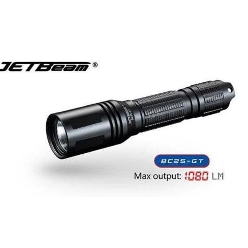 Jetbeam BC25-GT Flashlight Cree XP-L HI LED 1080 lumens Max Beam Distance:260m, camping, adventure ,outdoor, hunting