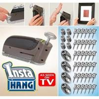 LanLan Traceless Manual Operation Hole Puncher Wall Nail Impactor Nailer Wall Punch Creative All Supplies Drill