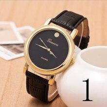 2015 nuevo reloj de cuarzo, correa de acero inoxidable y oro de lujo de relojes de los hombres, relojes de moda de negocios, regalo de Los Hombres