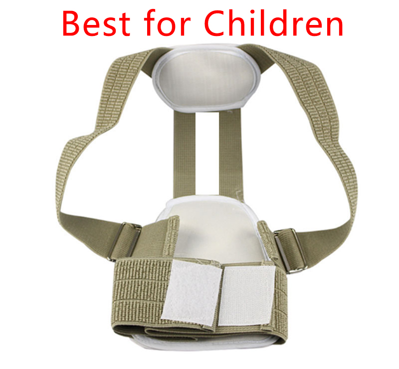 High Quality Child Children Posture Corrector Health Care Braces & Supports Belt Correction Slouch Orthosis Back Support Belt