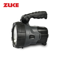 5W Rechargeable LED Flashlight Bulit In 4000mAh 18650 Battery Handy Portable Outdoor 1 Modes 330LM Torch
