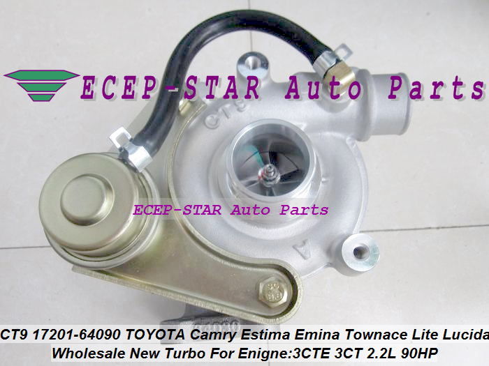 Free Ship CT9 17201-64090 1720164090 17201 64090 Turbocharger Turbo For <font><b>TOYOTA</b></font> Lite LiteAce Town Ace Townace 3CTE <font><b>3CT</b></font> 3C-T 2.2L image
