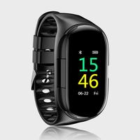 Wireless In ear Bluetooth 5.0 Earphone Smart Wristband Sports Smart Watch Blood Pressure Heart Rate Monitor For IPhone Android