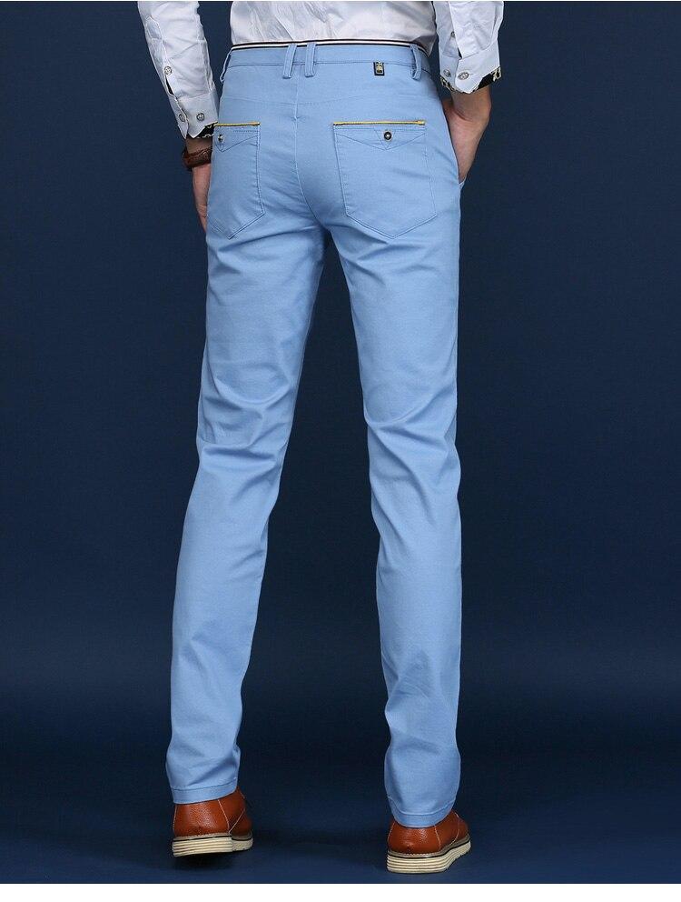 HTB1buZEs7yWBuNjy0Fpq6yssXXaW HCXY 2019 Men Pants Cotton warm Straight Trousers autumn and winter Men's Plus velvet Casual Pants Plus size 28-38