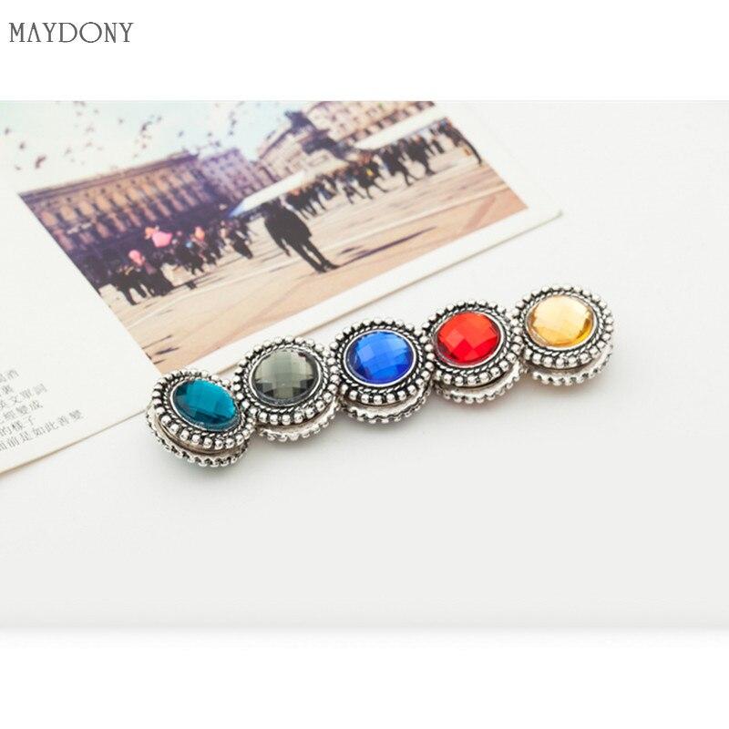 XT51 fashion headwear scarf magnet brooch hijab clips