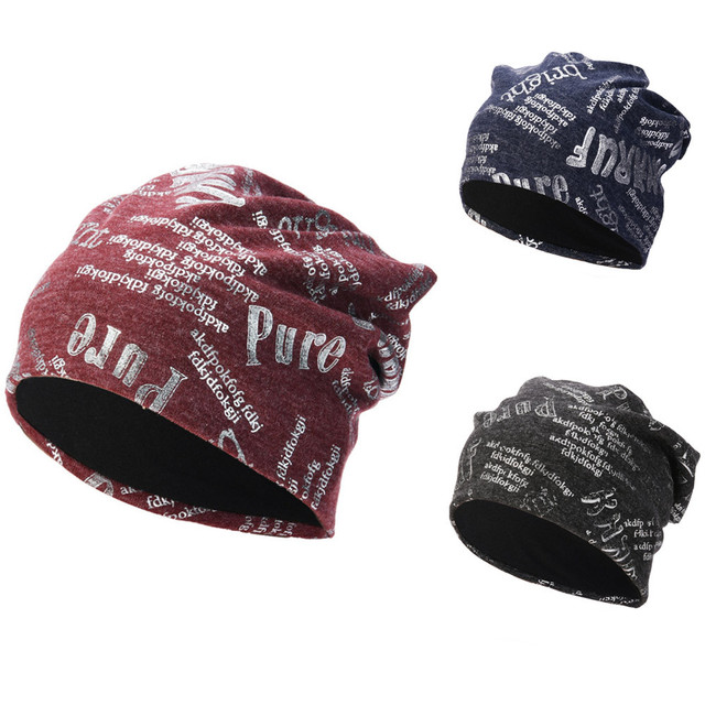 KLV 1 PC גברים נשים בבאגי חם סרוג חורף צמר לסרוג סקי כפת גולגולת רפוי יוניסקס כותנה כובעי כובע שחור, חיל הים, יין אדום z1008