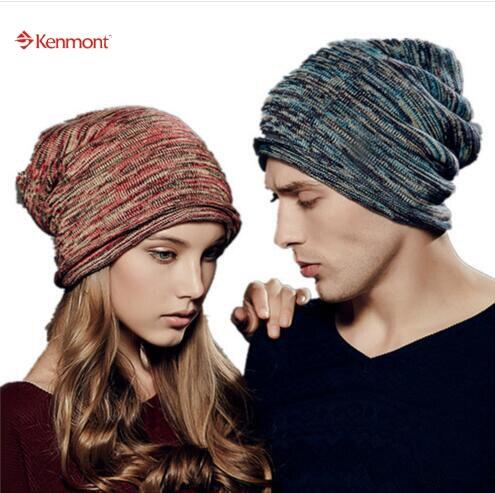 Kenmont Unisex Women Men Winter Warm Outdoor Chic Ski Hat Warm Neck Collar Beanie Slouch Cap 1544