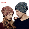 Kenmont Unisex mujer hombre invierno caliente exterior Chic esquí sombrero caliente del Collar del cuello Beanie Slouch Cap 1544