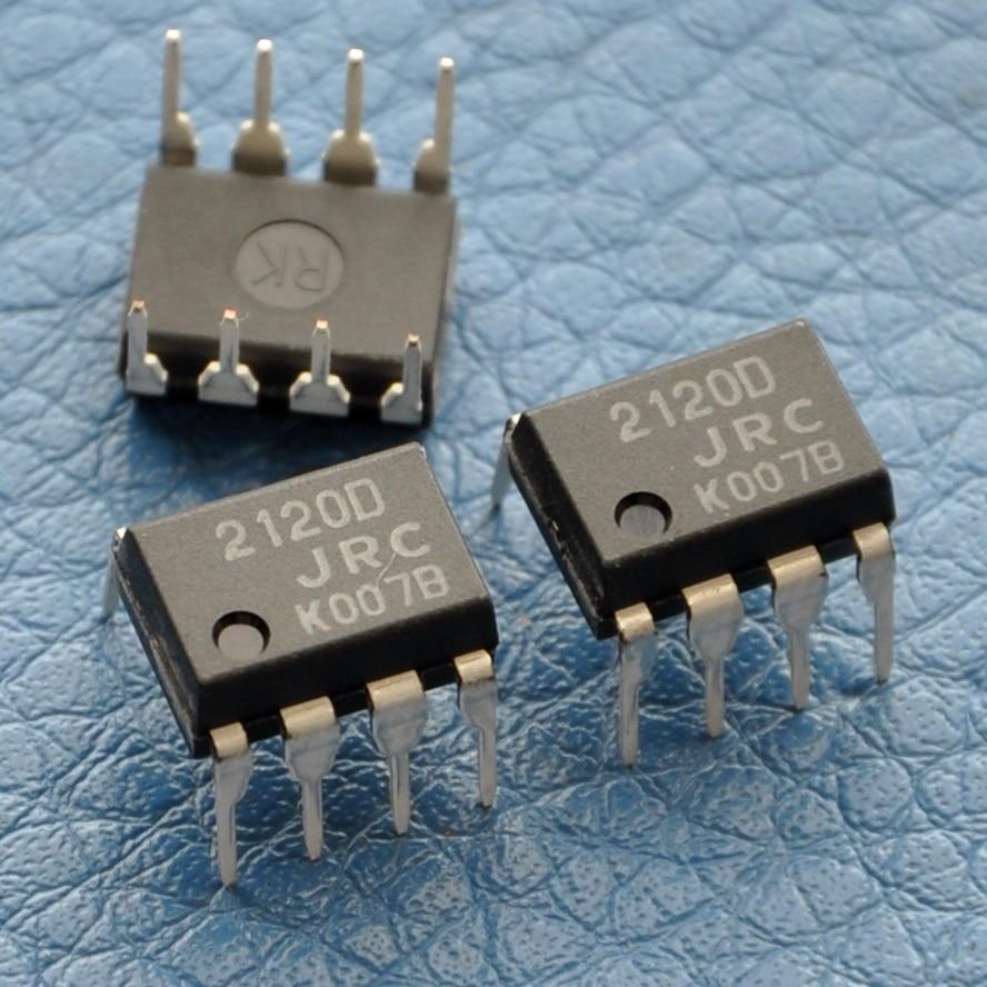 4 Pcs Lot Op Amp With Switch Ic Njm2120d Njm2120 Jrc 2120d