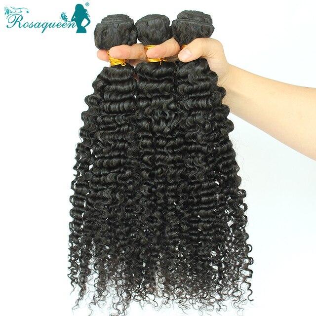 Deep Wave 3b 3c Kinky Curly Virgin Filipino Hair Weave Bundles Human