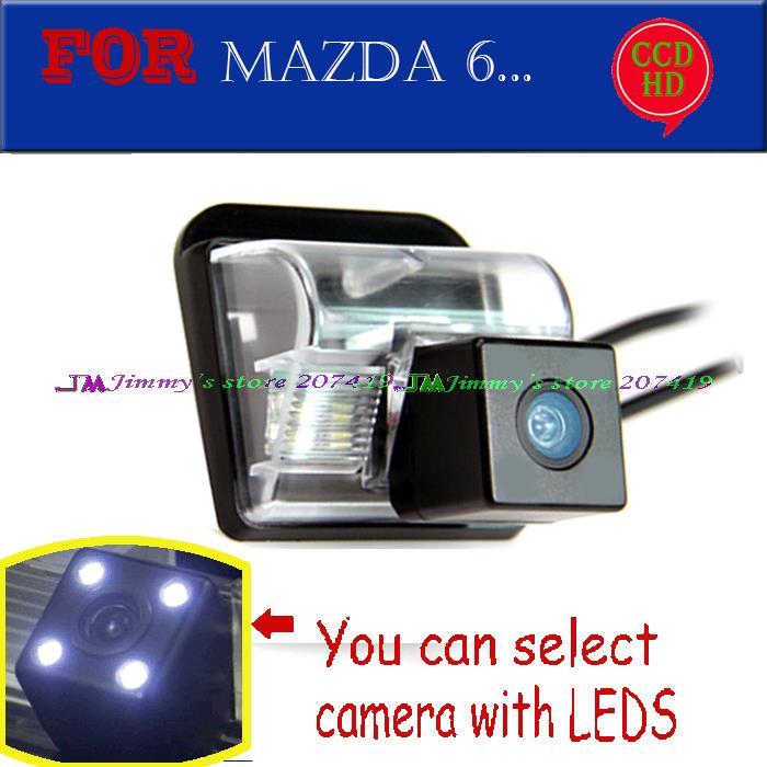 imágenes para Cable inalámbrico para sony ccd/led del revés del coche cámara de aparcamiento para Mazda 3 Mazda 6 CX-5 CX-7 CX5 CX7 Oley Impermeable IP68