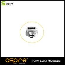 สีเงินและสีดำสีอุปกรณ์เสริมบุหรี่อิเล็กทรอนิกส์Aspire Cleitoฐานฮาร์ดแวร์สำหรับAspire Cleitoเครื่องฉีดน้ำ