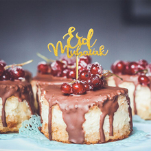 10PCS/bag Islam Eid Mubarak Ramadan Wedding Cupcake Topper Muslim Baking Decor Kitchen Cake Tool