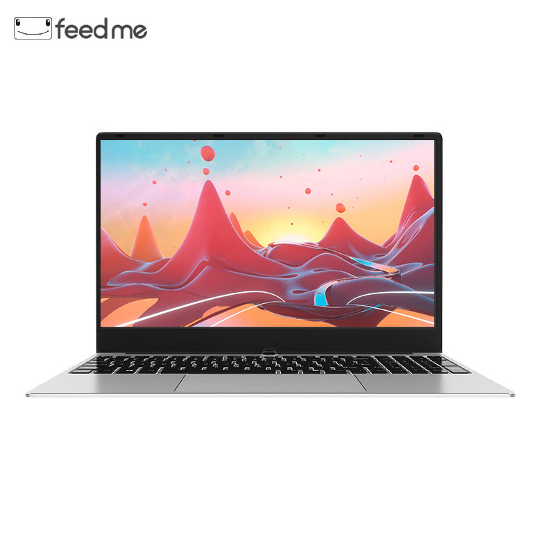 Coque métal 15.6 pouces Intel i7 6500U ordinateur portable 1080 P Windows 10 OS 8 GB RAM avec carte graphique dédiée double bande WiFi pour le jeu