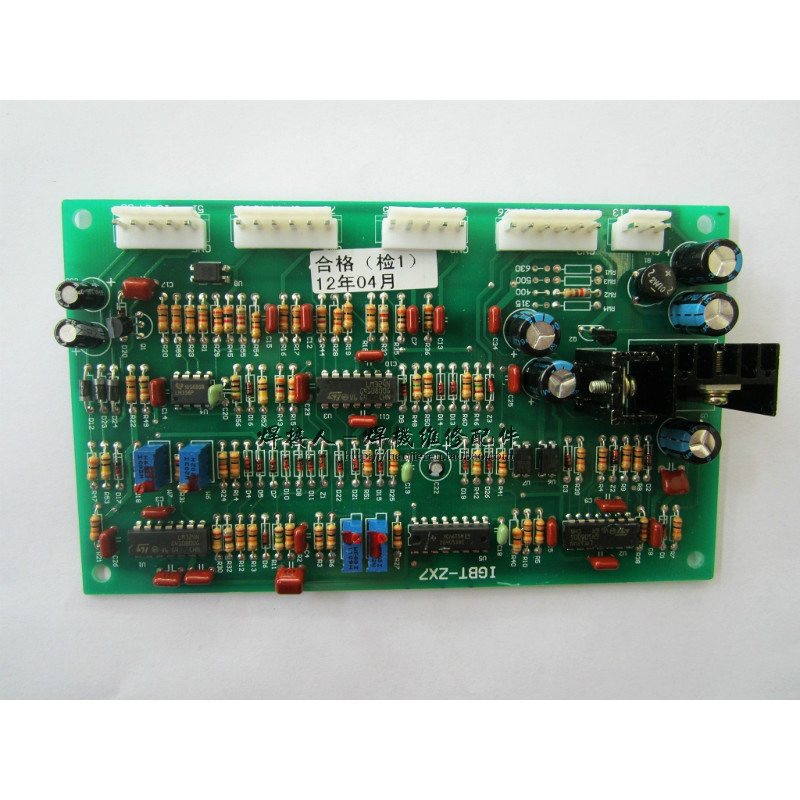 IGBT welding inverter Zx7 series control board control board manual welding plate welding machine accessories zx7 250s single tube igbt double voltage dc welding inverter upper board control board circuit board maintenance replacement