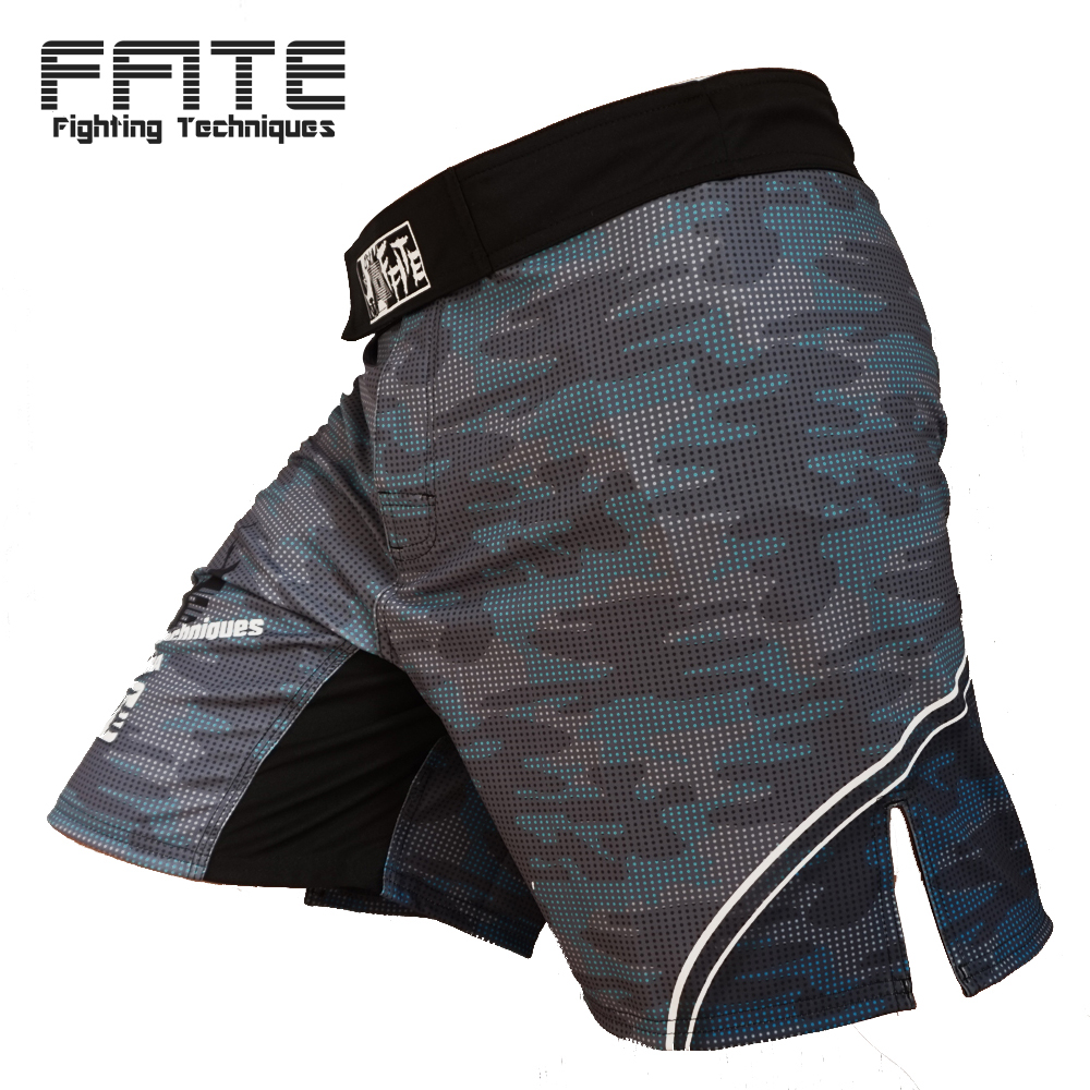 FFITE Boxning Muay Thai Shorts Trunks MMA Fitness Träning Sanda Fight Sport Fighting Byxor Cam Grappling Mma kickboxing shorts
