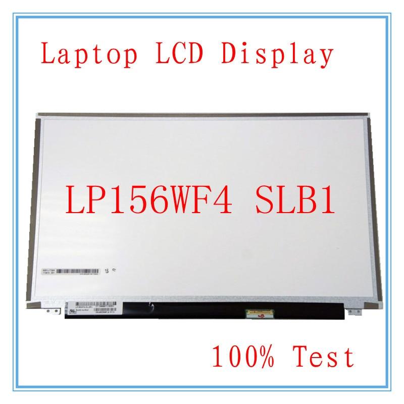 "5 piezas nuevo 15,6 ""FHD pantalla LP156WF4 (SL) (B1) LP156WF4-SLB1 pantalla mate"