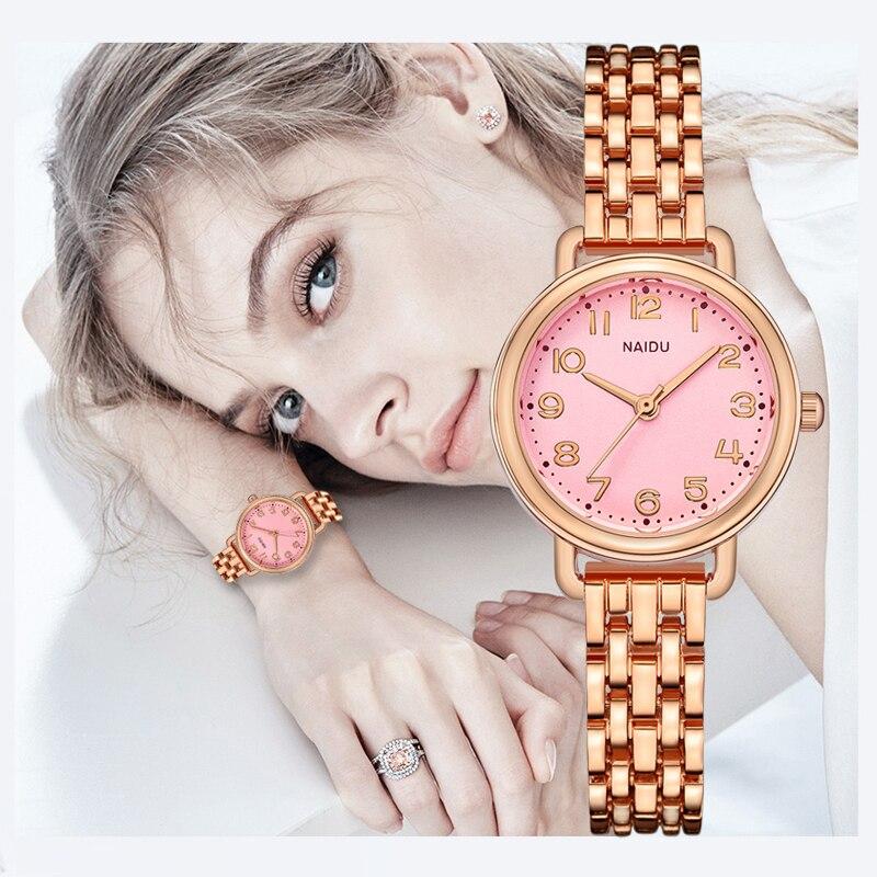 Stainless Steel Bracelet Watch for Women