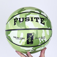 NEW Brand Colorful Characteristic Basketball PU Material Official Size#5/#6/#7 Basketball With Free Net Bag+ Needle
