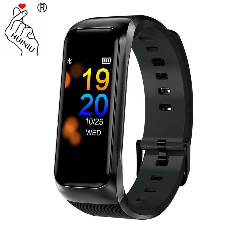 Fitness Bracelet IP68 Waterproof Support Heart Rate Blood Pressure Monitor Sports Smart Band with Charger Dock Smart Watch Band
