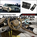 Pedal del acelerador del coche / cubierta de fábrica Original Sport Racing modelo diseño para Audi A8 D4 4 H 2010 ~ 2015 Tuning