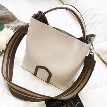 Luxus Marke Designer Messenger Bags Frauen 2017 Breiten Gurt PU Leder Handtasche Damenmode Umhängetaschen Weibliche Bolsa Feminina