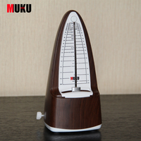 MUKU Guitar Metronome Online Mechanical Pendulum Mecanico Wood Color For Guitar Piano Violin Musical Instrument
