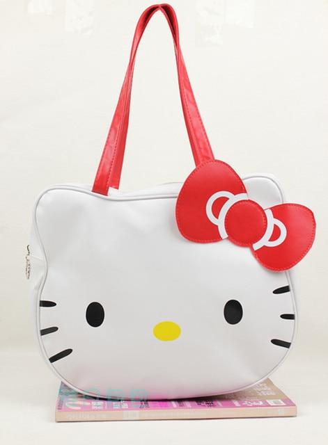 Hot sale Hello Kitty bags shopping bag handbag tote bag purse 1PC white free ship 820002J