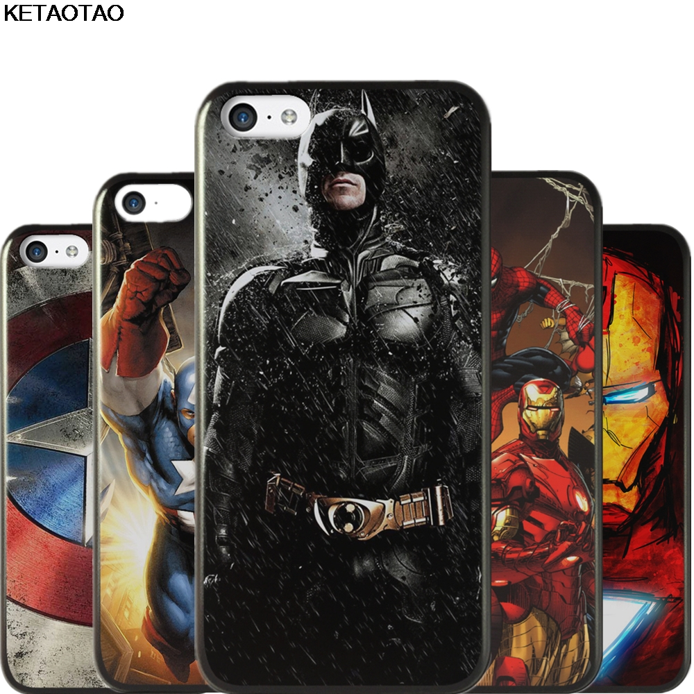 KETAOTAO Super Heros Batman VS Superman Phone Cases for Samsung S3 S4 S5 S6 S7 S8 S9 NOTE 3 5 7 8 Case Soft TPU Rubber Silicone