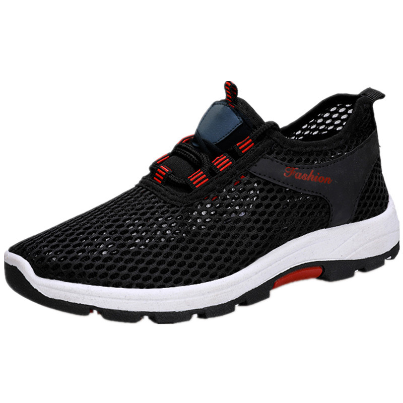JINBEILE Hiking-Shoes Sneakers Men Outdoor Breathable And Fashion Summer Couple Wear-Resistant
