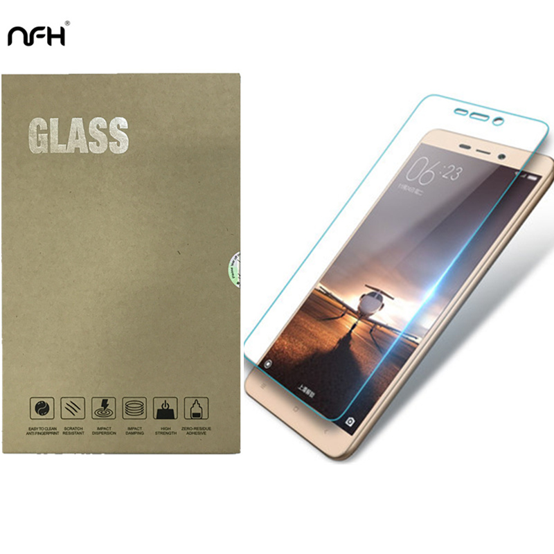 Sticlă temperată originală NFH pentru Xiaomi Redmi 3 3S 0.3mm 9H Film de protecție anti-explozie pentru ecran Xiaomi Redmi 3 S 3S PRO