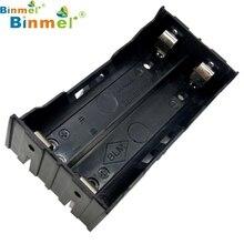 Caixa de Armazenamento Titular para 2×18650 TOP Quality 2017 Nova DIY Caso 3.7 V Bateria Recarregável 4 PIN Pinheiros Dec3