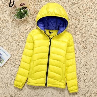 1a851f09b 2015 winter new children wear Uniqlo lightweight down jacket hooded ...