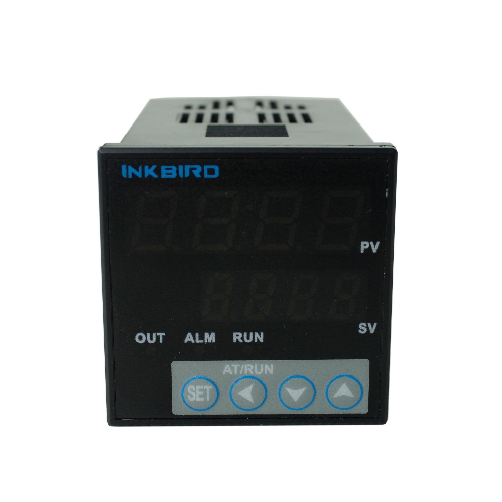 Inkbird F & C Display PID Temperature Controller Thermostat ITC-106RL with K sensor, Relay Output, AC 12V - 24V inkbird ac 100 220v digital pid thermostat temperature controller itc 100vh k sensor 25da ssr