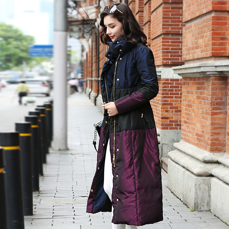 Le Doudoune Tq010 As Chaud Picture D'hiver Extérieure Femmes Sur The Épais Genou Grande De Manteau 2019 Long Taille Survêtement Mince Nouvelles OUqEnfw1