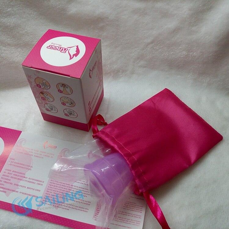 50Pcs Wholesale Menstrual Cup Medical Silicone Cup Copitas Menstruales Copa Menstrual Period Cup copo menstrual de