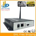 DHL Frete Grátis H.264 Codificador De Streaming de Vídeo HDMI Encocder HDMI Transmissor Transmissão Ao Vivo Iptv Codificador Codificador H264