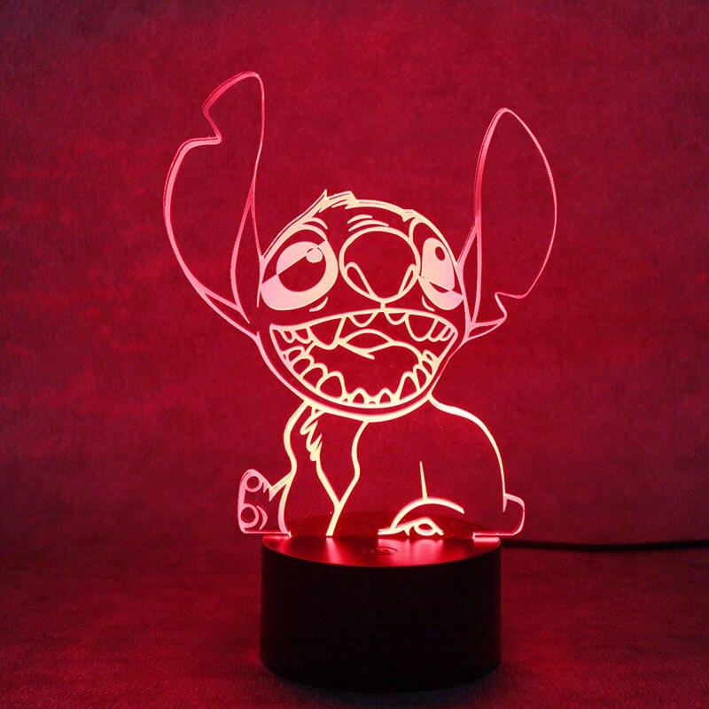 Creative 3D LED Night Light Novelty USB Table Lamp Toy Animal Shape Lamp Night Light Christmas Gifts Bedside Sleep Nightlight
