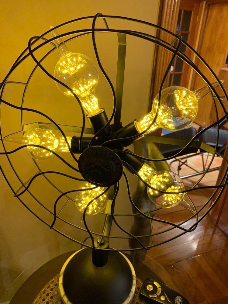 Image 5 - ST64 G95 A60 Starry Sky Dimmable led Bulb 3W 2200K E27 220V Wine Bottle Decorative Christmas Firework Lightbulb Lamp Lampada Led-in LED Bulbs & Tubes from Lights & Lighting