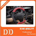 New Car Steering wheel covers Four seasons General Carbon Leather Interior Decoration For audi Mercedes-Benz BMW Ford Volkswagen