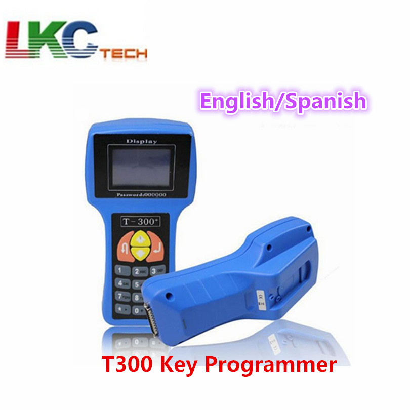 Newest Version T300 Key Programmer V16 8 machine T code english and spanish options T 300