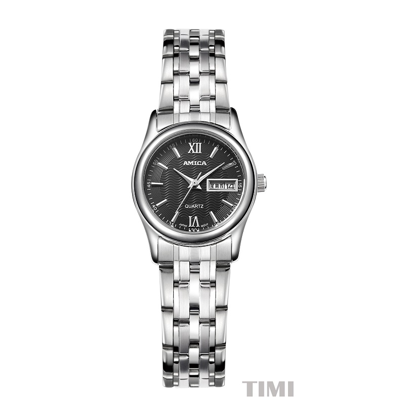 AMICA Quartz WristWatches 2018 New Fashion Wave Surface Lover's Watches Womens Watch A8 часы amica