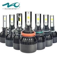 NAO h7 led h4 led bulb car light headlight bulbs 12V h11 h1 h3 h8 h9 hB3 9005 hB4 9006 h27 880 881 h13 automobiles lamp light F2