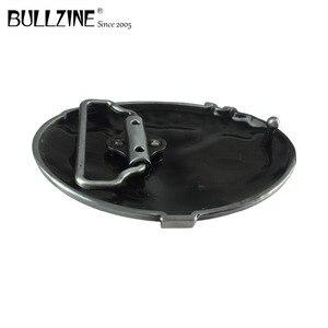 "Image 4 - Bullzine סיטונאי מערבי מכונאי כלי קאובוי ג ינס מתנת חגורת אבזם גימור בדיל FP 03643 עבור 4 ס""מ רוחב החגורה"