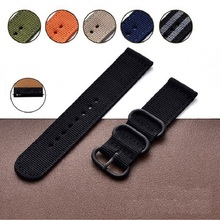 22mm Premium Nato Nylon Strap Watch Band for garmin MARQ series Garmin Fenix 5 / Instinct with Tools For Garmin quatix5 sapphire garmin fenix 5 sapphire black black band